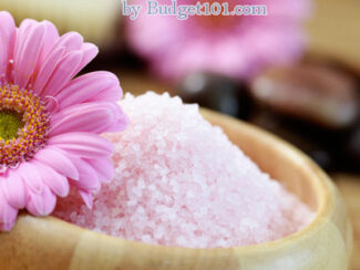 Home Spa Sea Salt Scrub