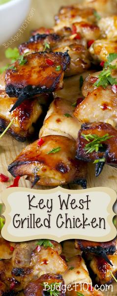 Key West Grilled Chicken - Budget101.com