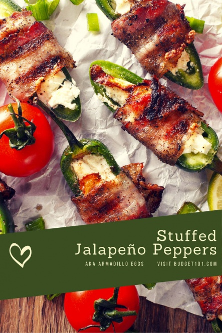Spicy Stuffed Jalapeno Peppers