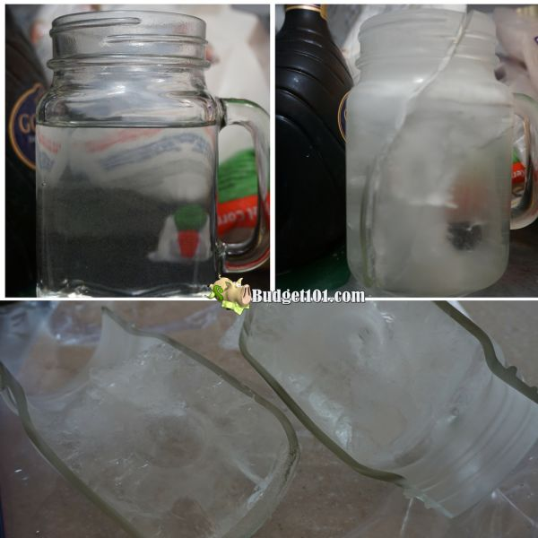 Dont freeze this type of jar