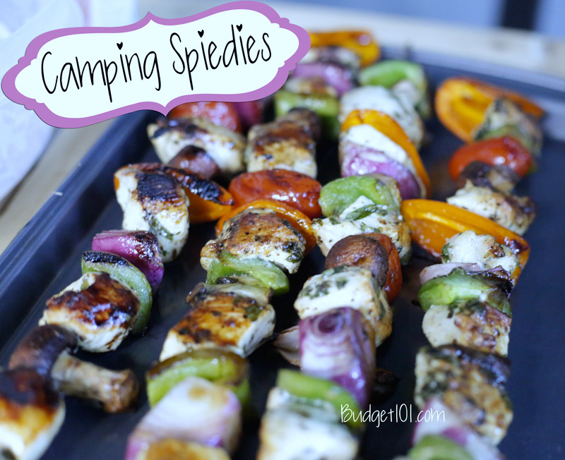 Chicken Skewers with vegetables