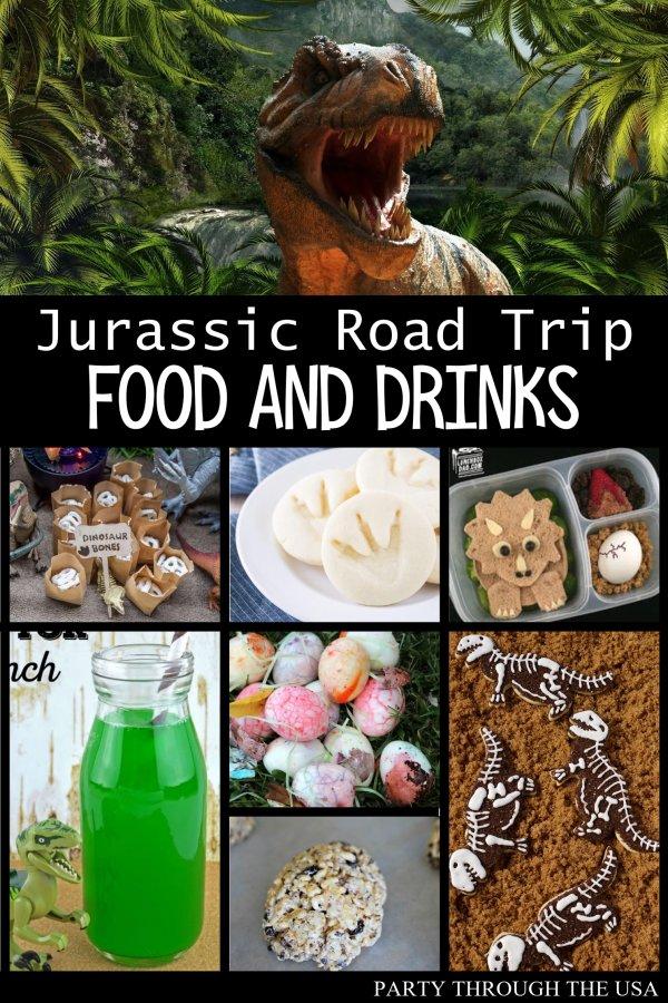 Jurassic Road Trip Food & Drink Ideas