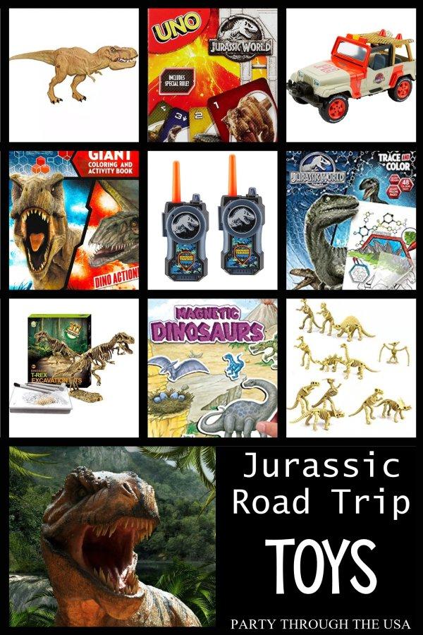 Jurassic Road Trip Toys