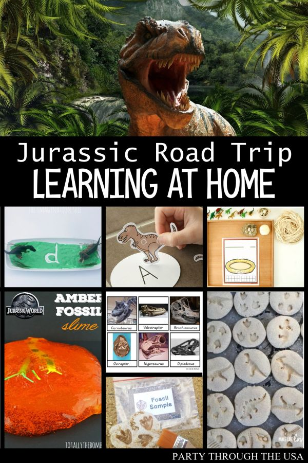 Jurassic Road Trip Learning at Home