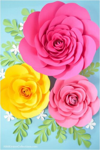 5ca00770a40c7 how to make large camellia paper roses a step by step tutorial