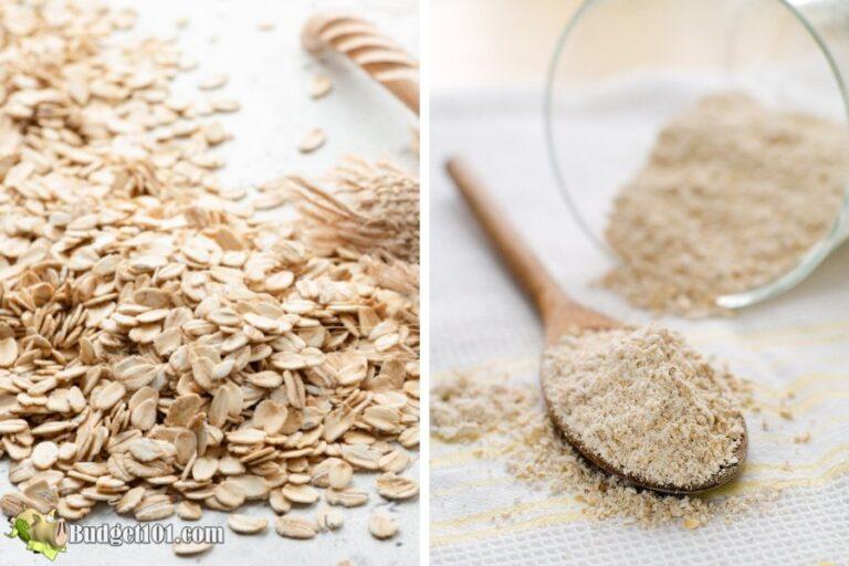 b101 how to make oat flour