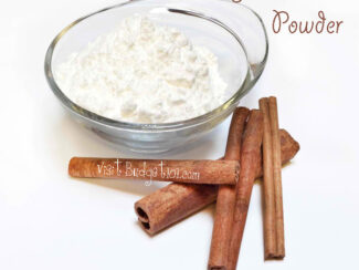 cooling cinnamon body powder