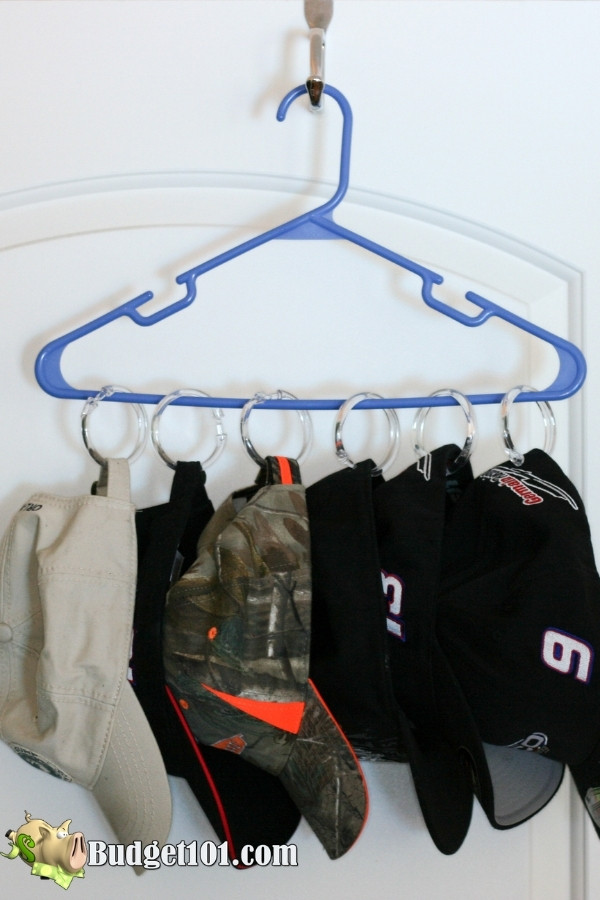 shower curtain hook organize hats