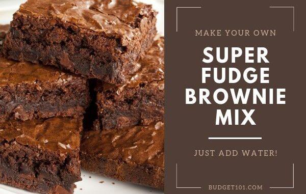 B101 Homemade Super Fudge Brownie Mix