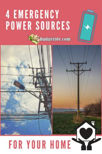 4 emergency power sources for your home
