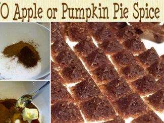 apple or pumpkin pie spice chips