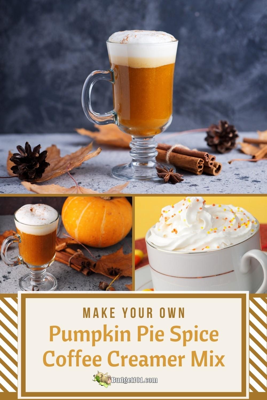Pumpkin Pie Spice Coffee Creamer Mix