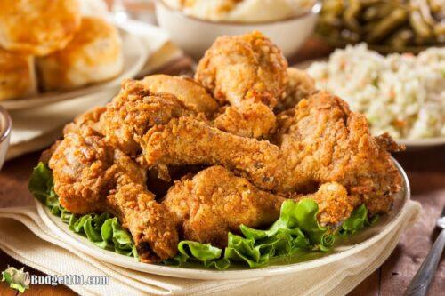 b101 southern fried buttermilk chicken