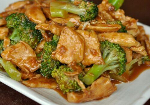 chicken broccoli stir fry