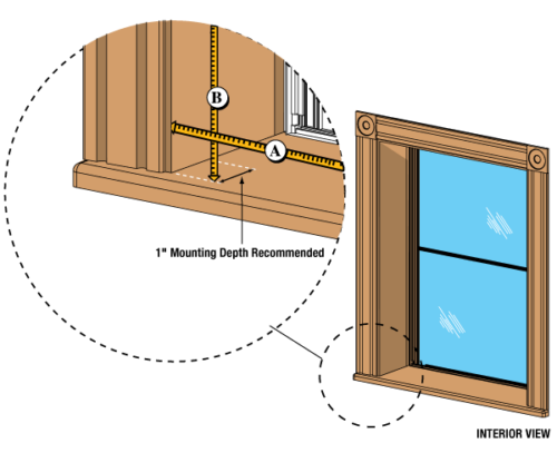 how to measure and install storm windows