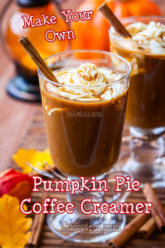 pumpkin pie spice coffee creamer mix