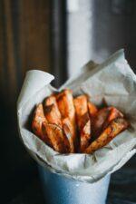 roasted pumpkin fries