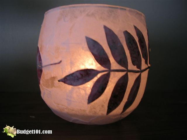 Essence of fall luminaries step 6