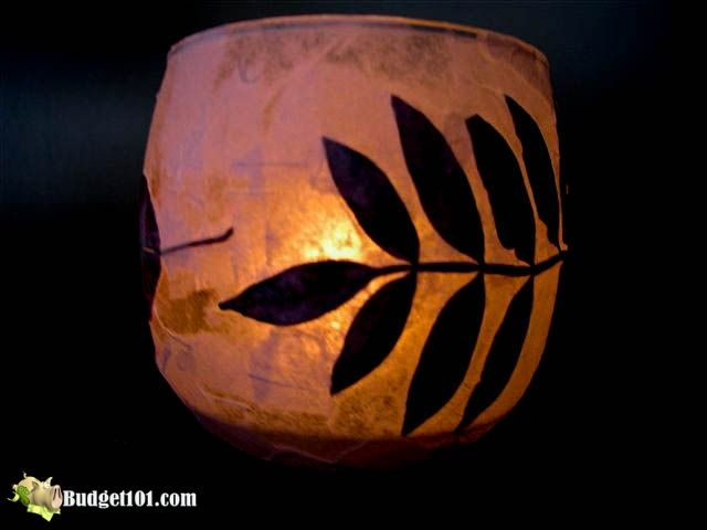 how to make Essence of fall luminaries