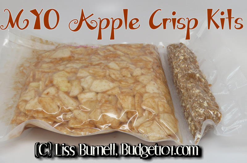 Homemade Apple Crisp Kits