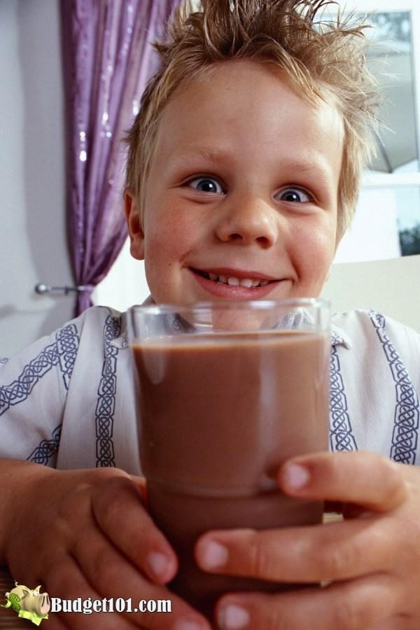B101 Homemade Chocolate Milk using Powdered or Evaporated Milk