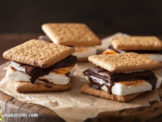 Budget101 Homemade S'mores from scratch