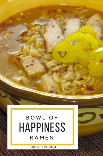 bowl of happiness chipotle chicken ramen