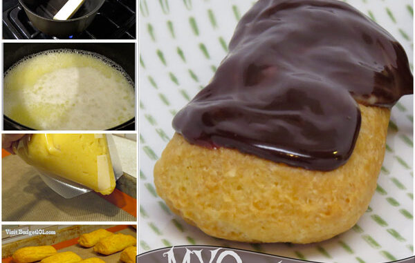 eclairs from scratch