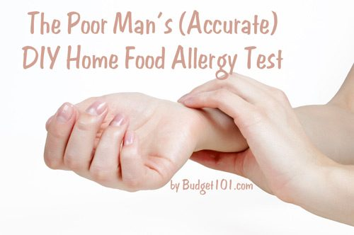 poor mans accurate food allergy test