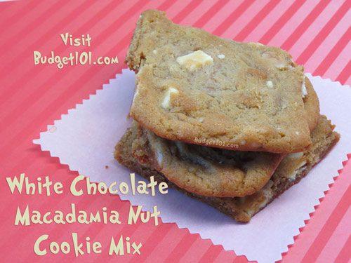 white chocolate chip macadamia cookie mix