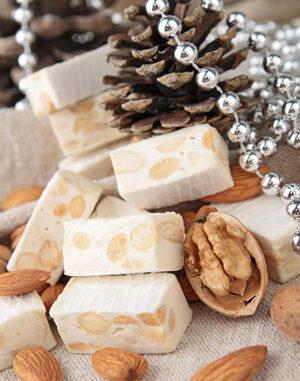 almond nougat candy