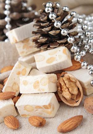 almond-nougat-candy