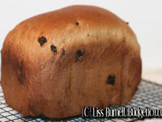 cherry raisin cinnamon bread machine mix