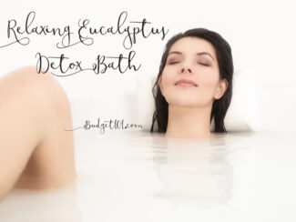 Eucalyptus detox bath for Congestion Relief