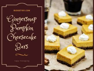 gingersnap pumpkin cheesecake bars