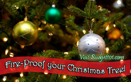 Christmas Tree Preservative.Fire Proof Your Christmas Tree Recipe Homemade Christmas