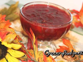 myo cranberry sauce