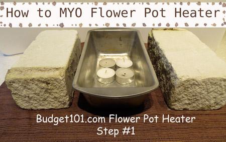 Budget101.com & DIY Flower Pot Heater | Emergency Heater | Homemade Heater