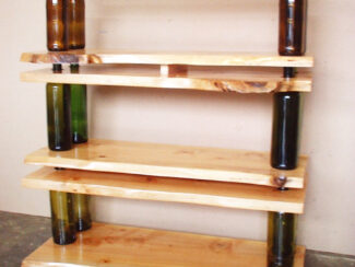 5ca005a2f2742 diy modular shelving coffee table using repurposed wine bottles