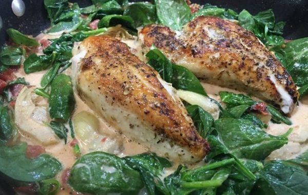 1 skillet Spinach Artichoke Chicken