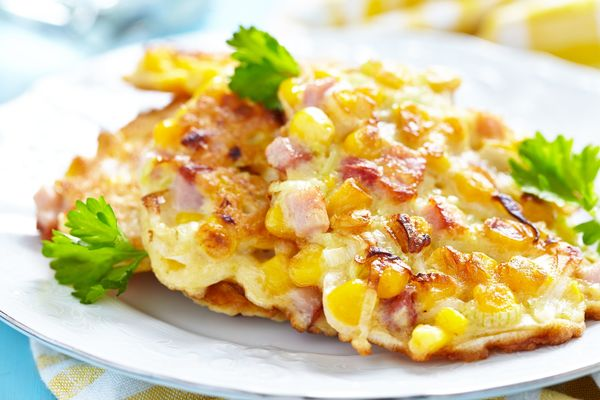 corn-fritters-with-ham-shallots