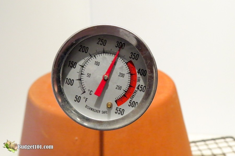 diy flower pot heater temperature