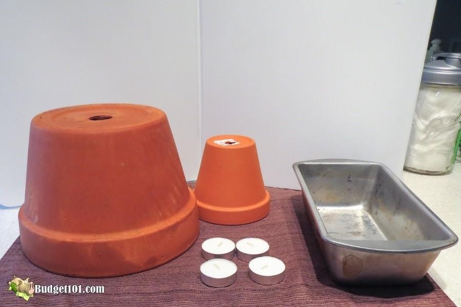 flower pot heater materials