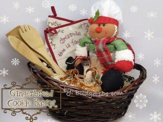 Gingerbread Cookie Gift Basket