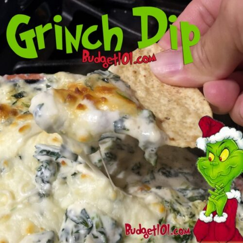 holiday grinch dip