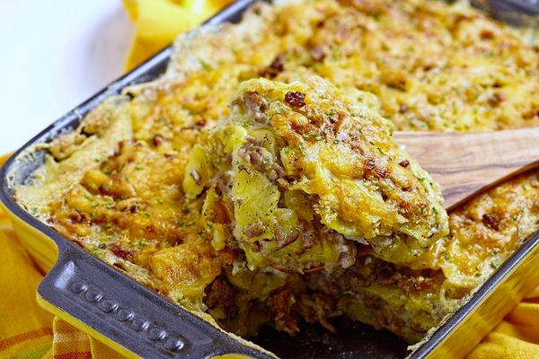 sausage-scramble-casserole