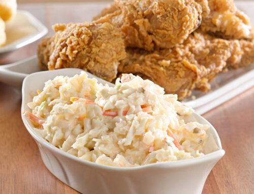 How to make authentic kfc coleslaw
