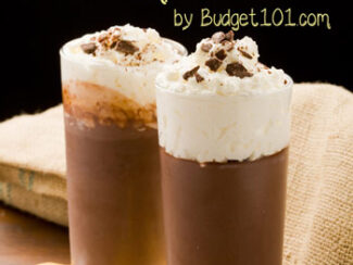da bomb chocolate pudding shots