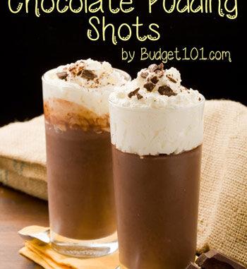 da bomb chocolate pudding shots