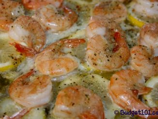 Roasted Lemon Herb Shrimp